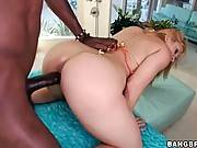White Hottie Tastes Thick Black Dong 3