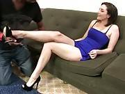 Pretty Tegan Mohr Gets Her Sexy Feet Worshiped 1